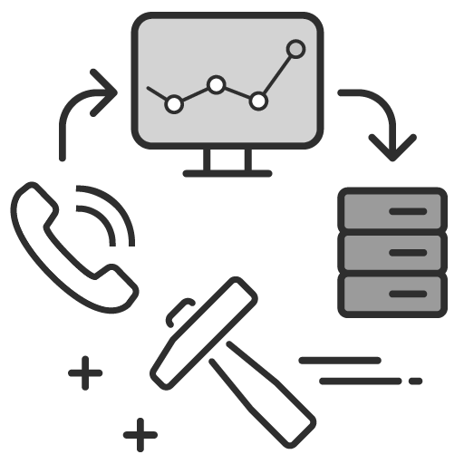 INVOX call tracking CRM integration